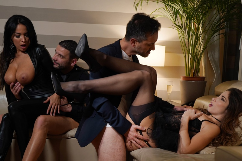 Anissa Kate Mike Adriano